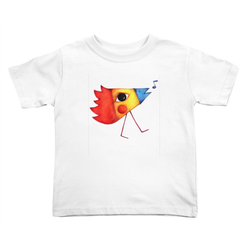 Patopollo Kids Toddler T-Shirt by elenalosadaShop's Artist Shop