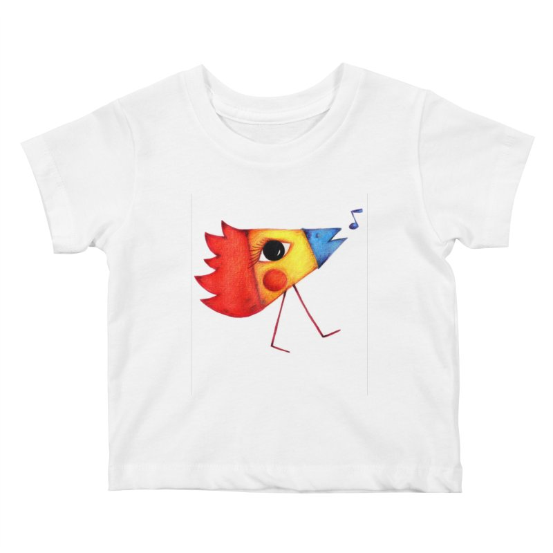 Patopollo Kids Baby T-Shirt by ElenaLosada Artist Shop