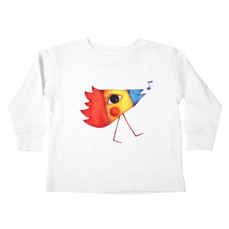 Patopollo Kids Toddler Longsleeve T-Shirt by ElenaLosada Artist Shop