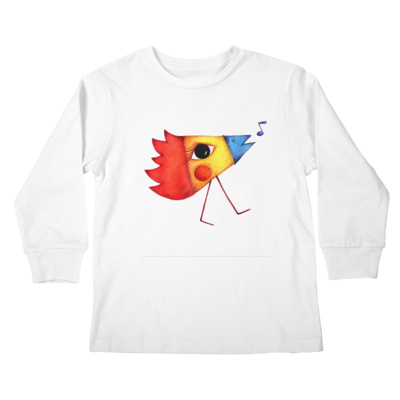 Patopollo Kids Longsleeve T-Shirt by elenalosadaShop's Artist Shop