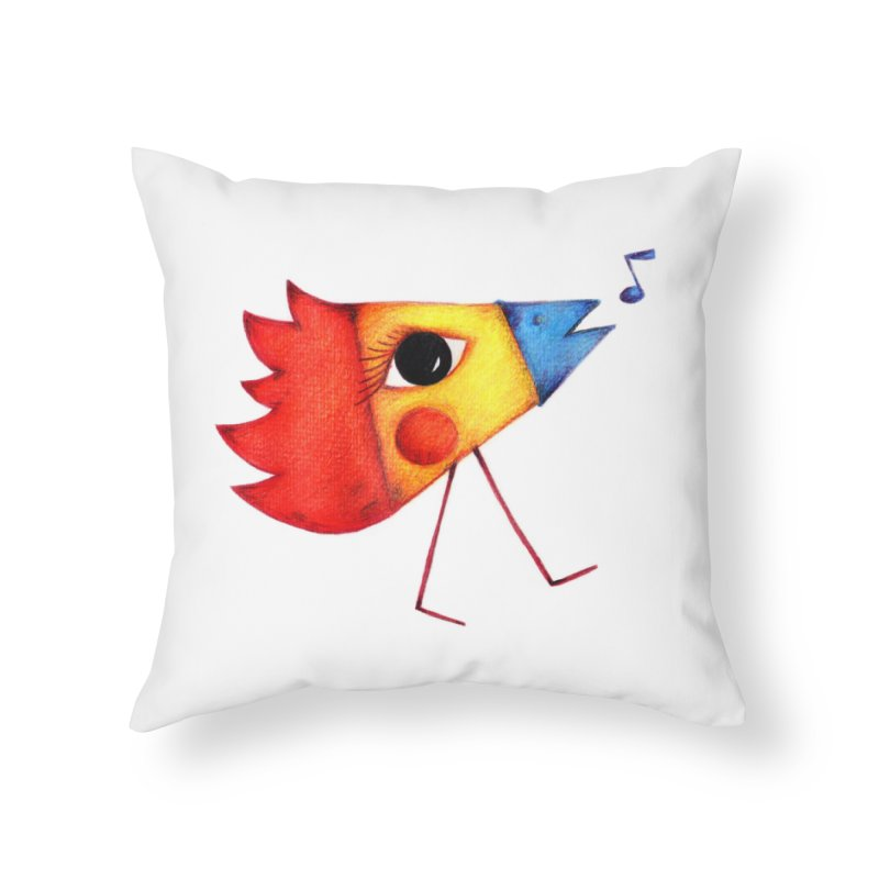 Patopollo Home Throw Pillow by elenalosadaShop's Artist Shop