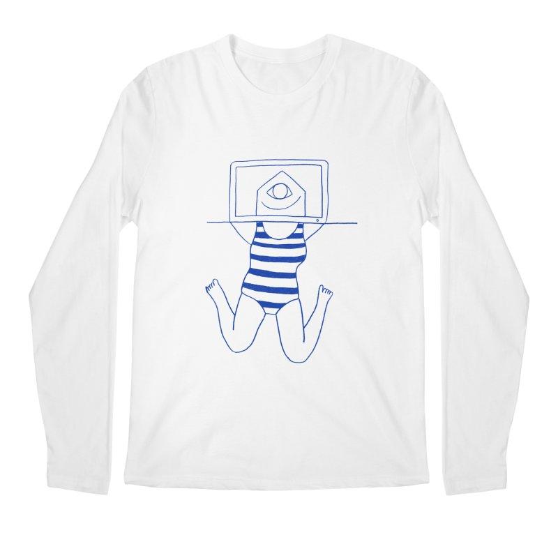 Working on Summer by Elena Losada Men's Longsleeve T-Shirt by elenalosadaShop's Artist Shop