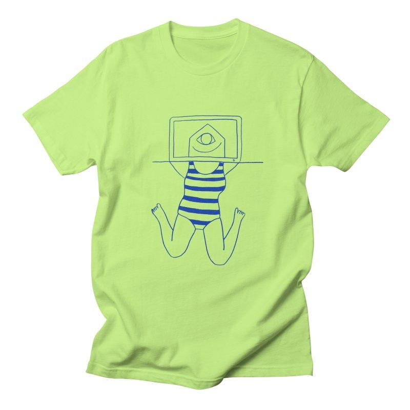 Working on Summer by Elena Losada Men's T-Shirt by ElenaLosada Artist Shop