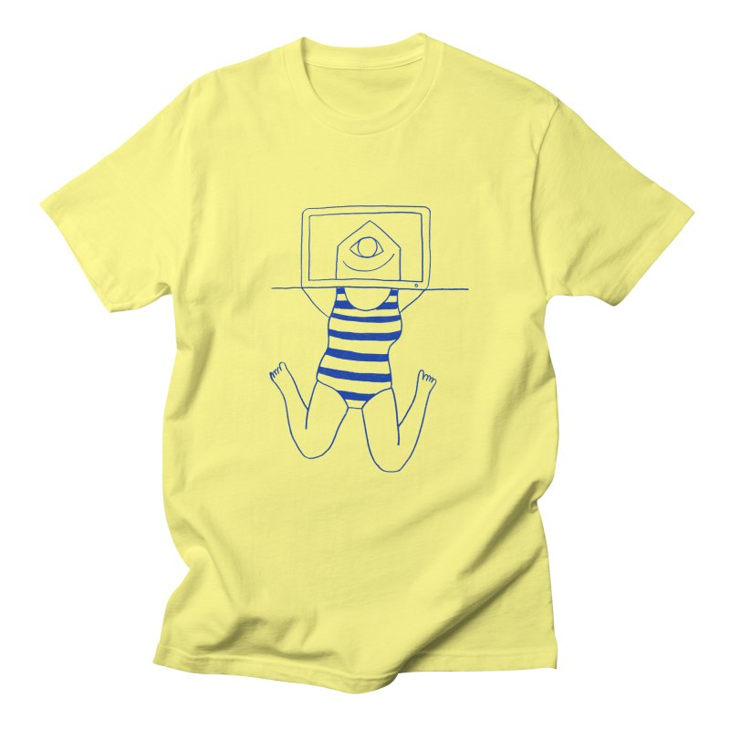 Working on Summer by Elena Losada Women's Unisex T-Shirt by ElenaLosada Artist Shop