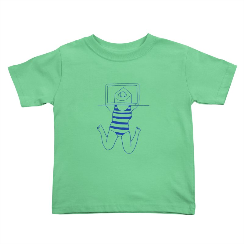 Working on Summer by Elena Losada Kids Toddler T-Shirt by elenalosadaShop's Artist Shop
