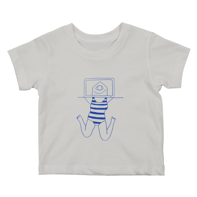 Working on Summer by Elena Losada Kids Baby T-Shirt by elenalosadaShop's Artist Shop