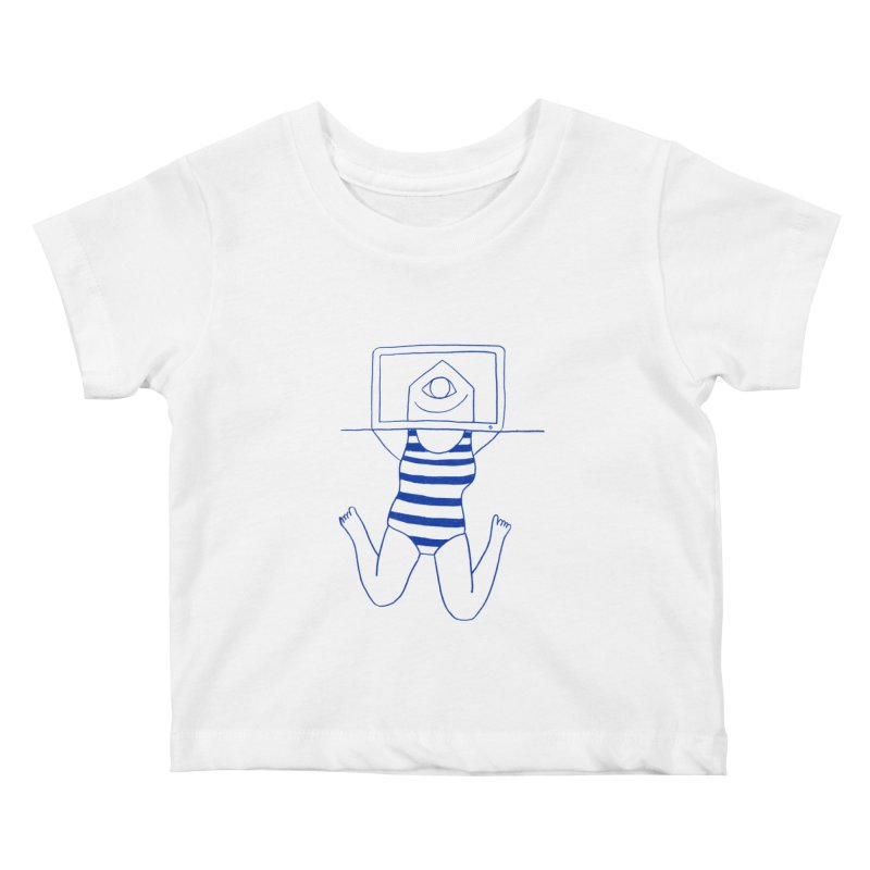 Working on Summer by Elena Losada Kids Baby T-Shirt by ElenaLosada Artist Shop