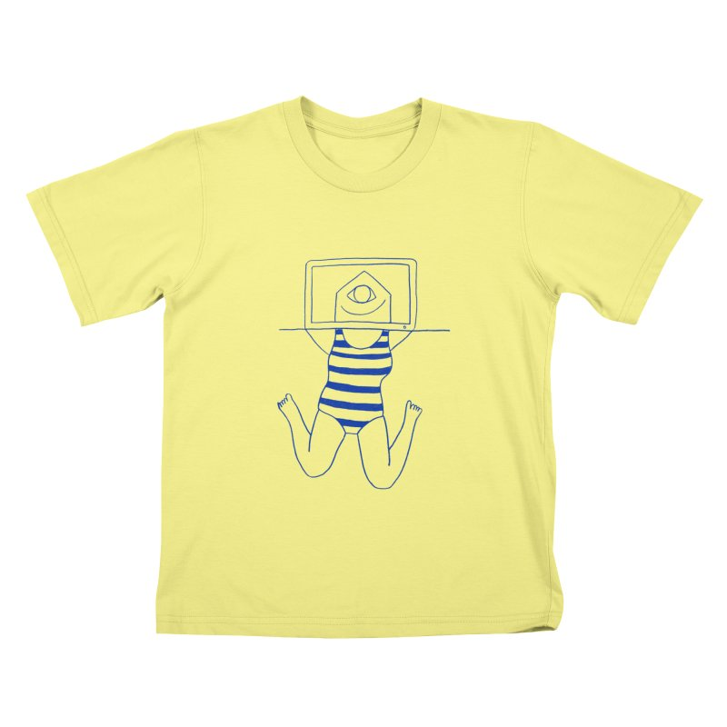 Working on Summer by Elena Losada Kids T-shirt by elenalosadaShop's Artist Shop
