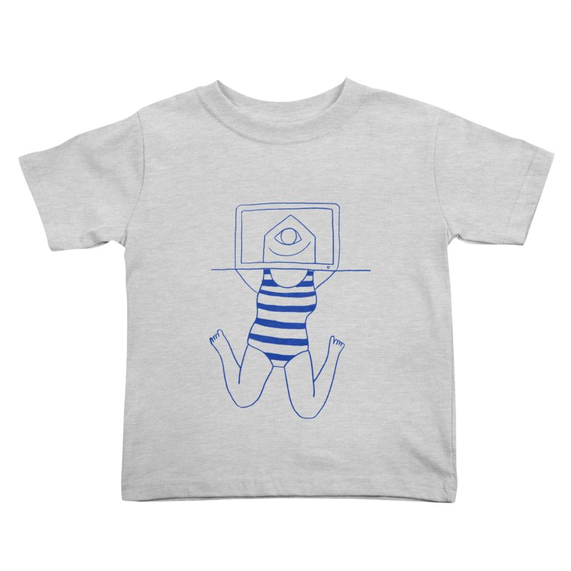 Working on Summer by Elena Losada Kids Toddler T-Shirt by ElenaLosada Artist Shop