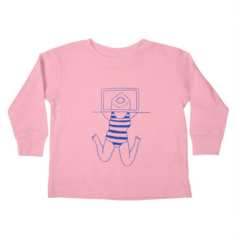 Working on Summer by Elena Losada Kids Toddler Longsleeve T-Shirt by ElenaLosada Artist Shop