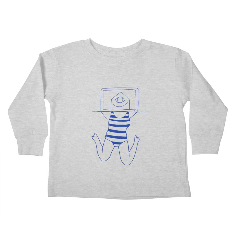 Working on Summer by Elena Losada Kids Toddler Longsleeve T-Shirt by elenalosadaShop's Artist Shop