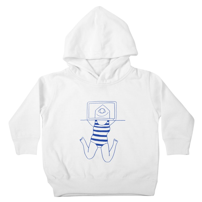 Working on Summer by Elena Losada Kids Toddler Pullover Hoody by ElenaLosada Artist Shop