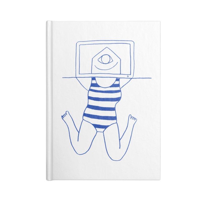 Working on Summer by Elena Losada Accessories Notebook by ElenaLosada Artist Shop