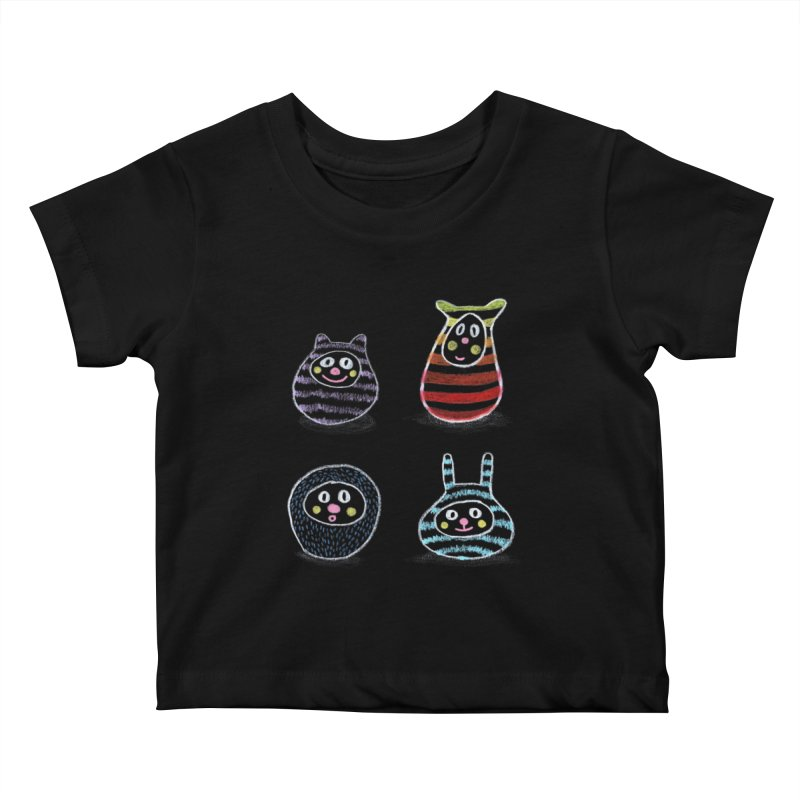 SushiFaces by Elena Losada Kids Baby T-Shirt by ElenaLosada Artist Shop