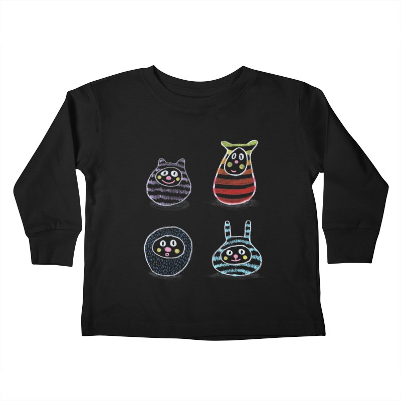 SushiFaces by Elena Losada Kids Toddler Longsleeve T-Shirt by ElenaLosada Artist Shop