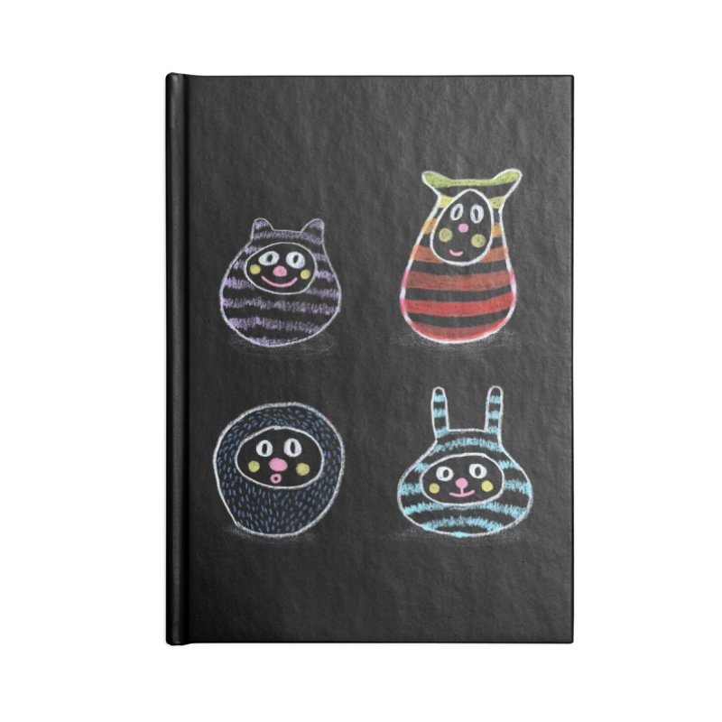 SushiFaces by Elena Losada Accessories Notebook by ElenaLosada Artist Shop