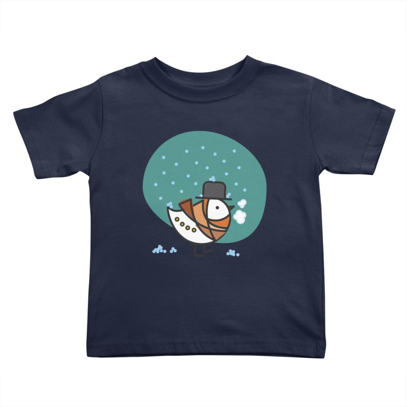 It's Snowing! It's Snowing! Kids Toddler T-Shirt by ElenaLosada Artist Shop