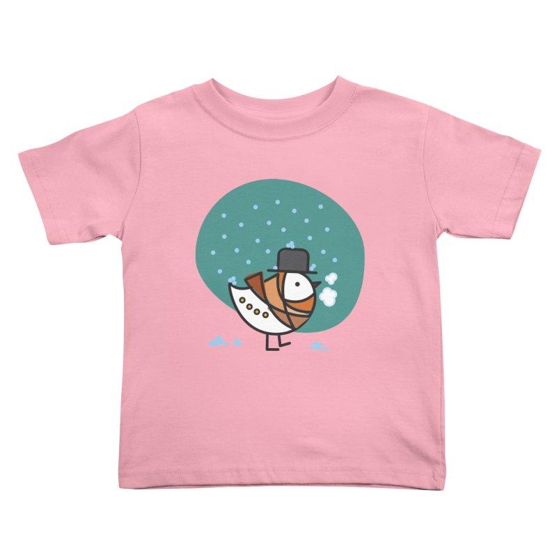 It's Snowing! It's Snowing! Kids Toddler T-Shirt by ElenaLosada Artist Shop