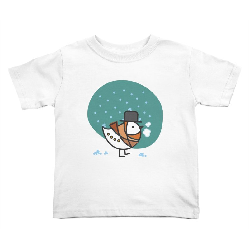 It's Snowing! It's Snowing! Kids Toddler T-Shirt by elenalosadaShop's Artist Shop
