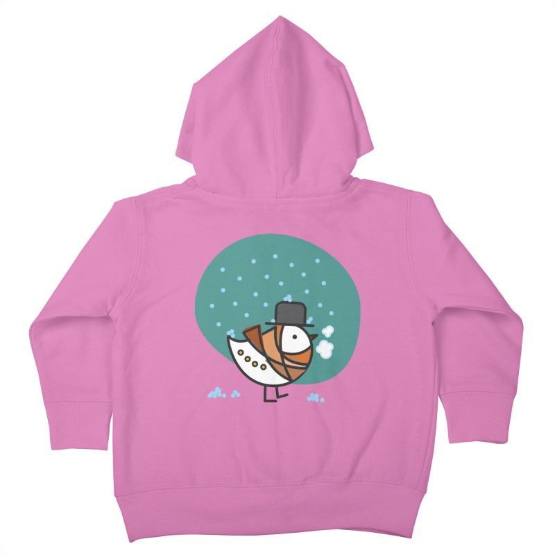 It's Snowing! It's Snowing! Kids Toddler Zip-Up Hoody by ElenaLosada Artist Shop