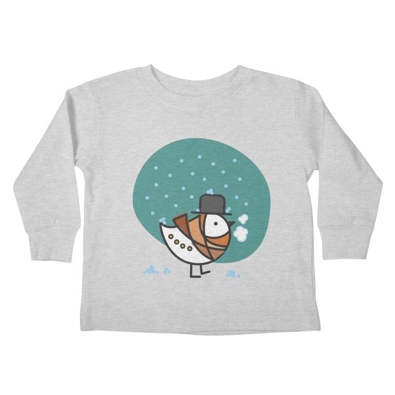 It's Snowing! It's Snowing! Kids Toddler Longsleeve T-Shirt by ElenaLosada Artist Shop