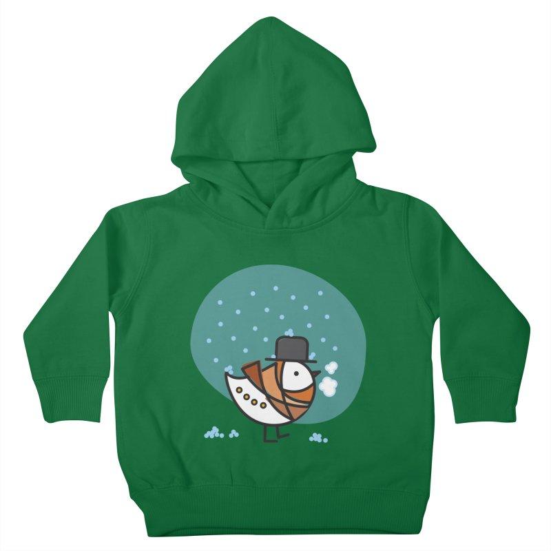 It's Snowing! It's Snowing! Kids Toddler Pullover Hoody by ElenaLosada Artist Shop