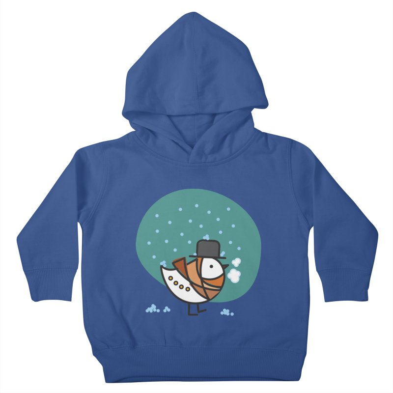 It's Snowing! It's Snowing! Kids Toddler Pullover Hoody by elenalosadaShop's Artist Shop