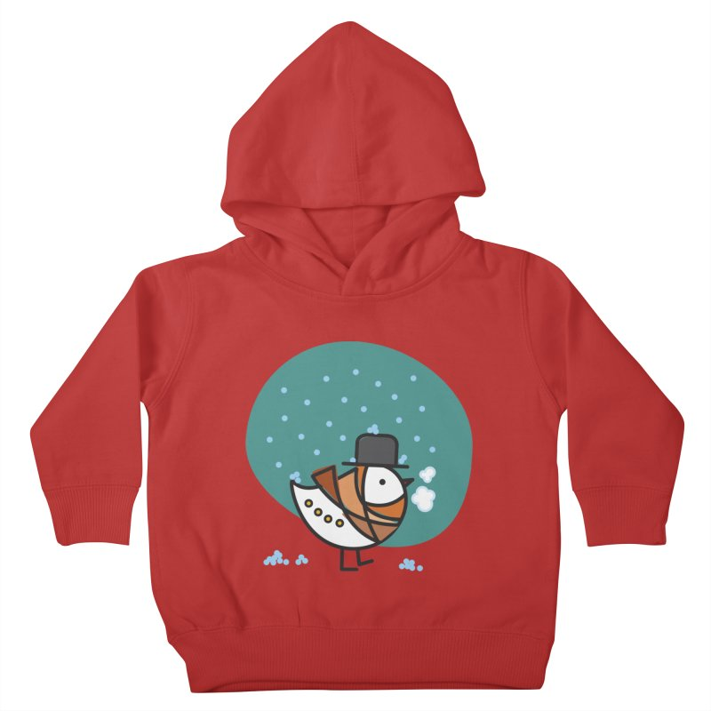 It's Snowing! It's Snowing! Kids Toddler Pullover Hoody by ElenaLosada Artist Shop