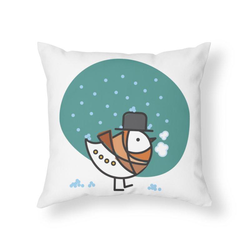 It's Snowing! It's Snowing! Home Throw Pillow by elenalosadaShop's Artist Shop