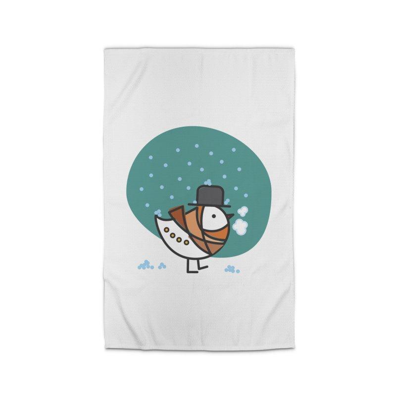 It's Snowing! It's Snowing! Home Rug by ElenaLosada Artist Shop