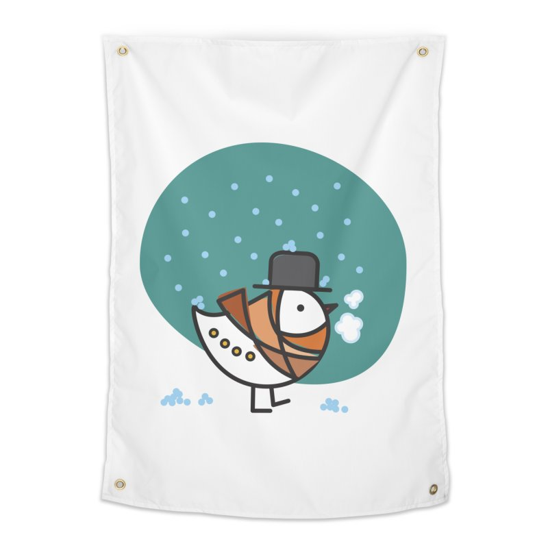 It's Snowing! It's Snowing! Home Tapestry by ElenaLosada Artist Shop