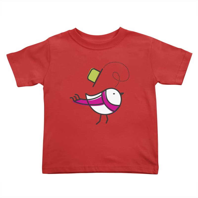 Ups! the wind... Kids Toddler T-Shirt by ElenaLosada Artist Shop