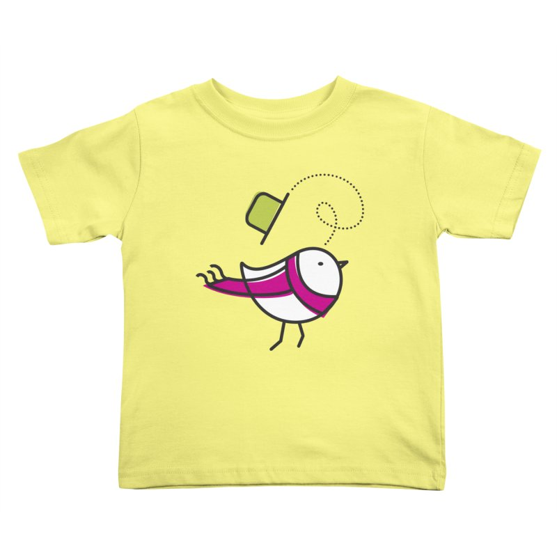 Ups! the wind... Kids Toddler T-Shirt by elenalosadaShop's Artist Shop