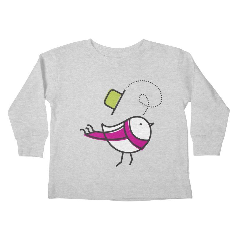 Ups! the wind... Kids Toddler Longsleeve T-Shirt by ElenaLosada Artist Shop