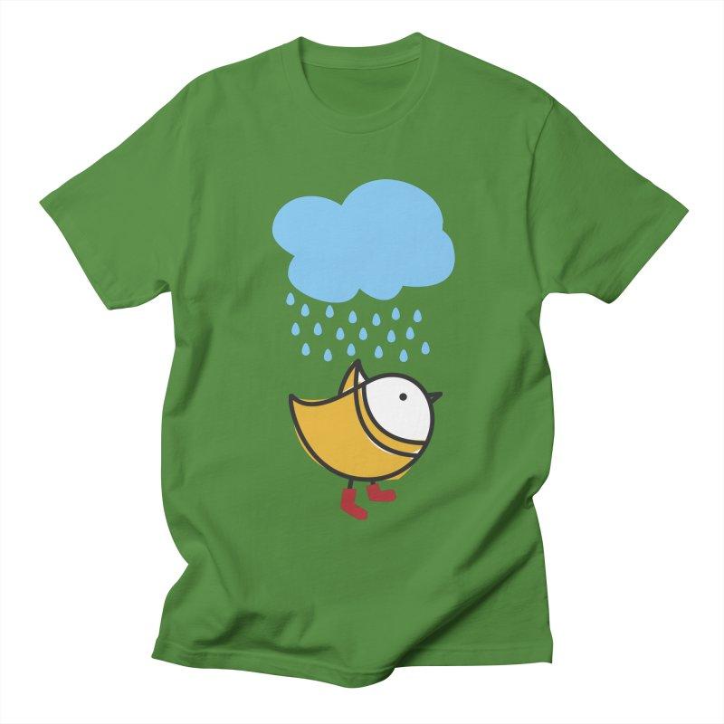 It's raining! Men's Regular T-Shirt by ElenaLosada Artist Shop