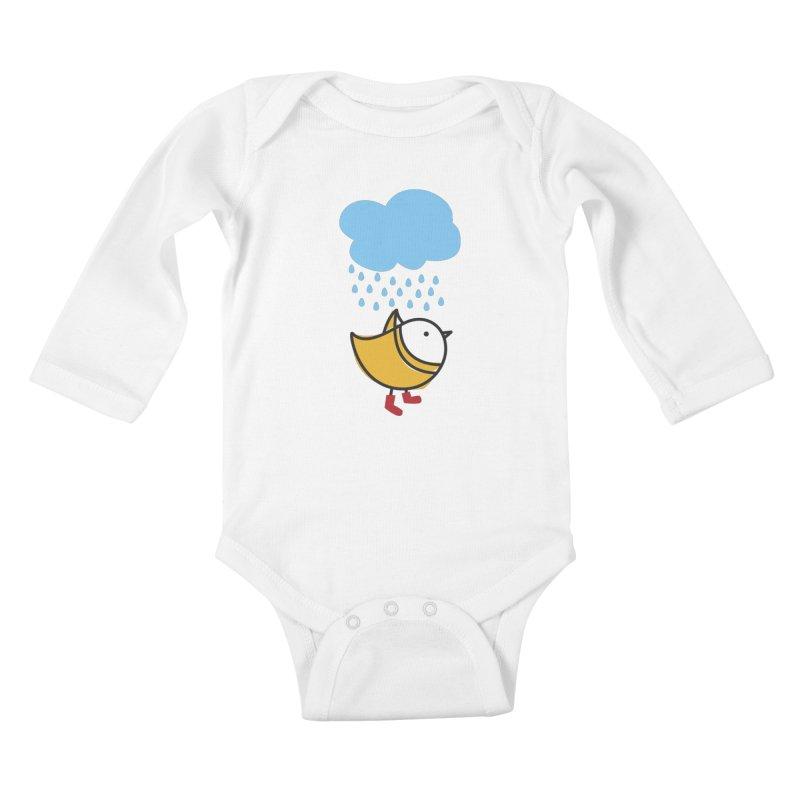 It's raining! Kids Baby Longsleeve Bodysuit by ElenaLosada Artist Shop