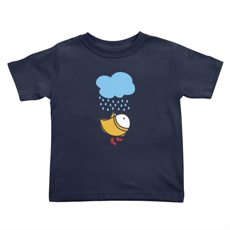 It's raining! Kids Toddler T-Shirt by elenalosadaShop's Artist Shop