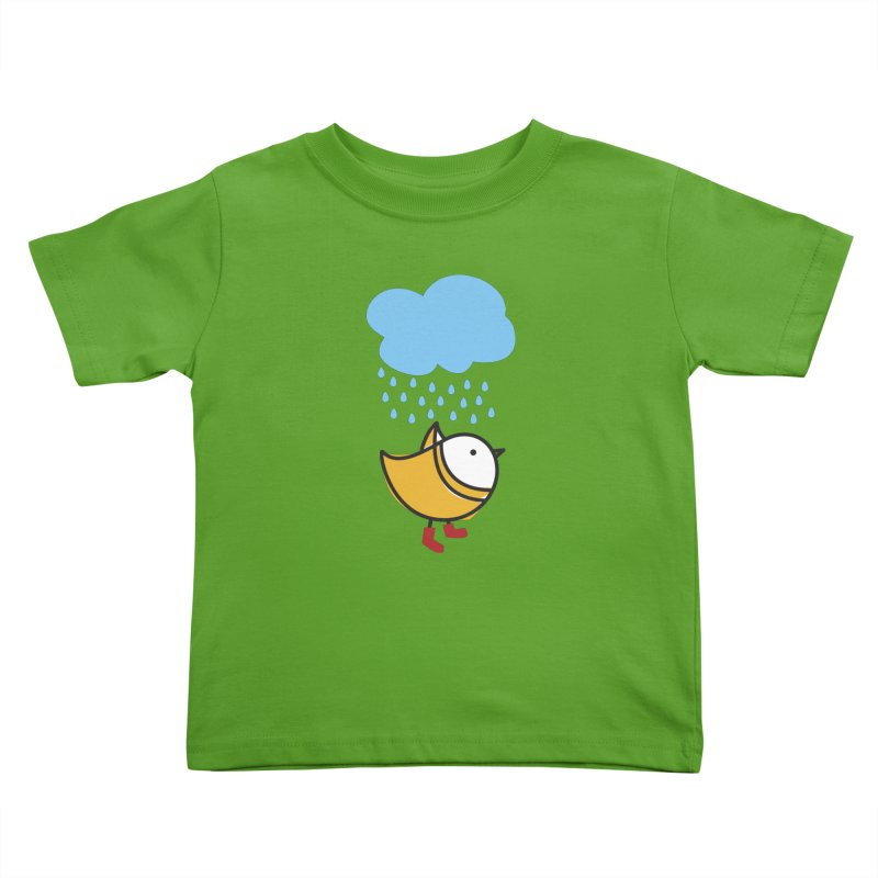 It's raining! Kids Toddler T-Shirt by ElenaLosada Artist Shop