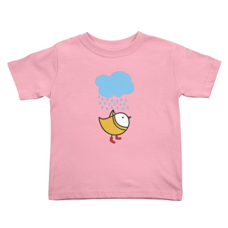 It's raining! Kids Toddler T-Shirt by ElenaLosada Artist Shop