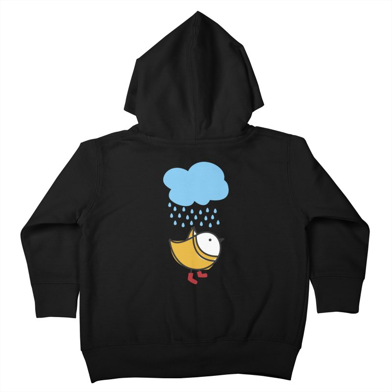 It's raining! Kids Toddler Zip-Up Hoody by ElenaLosada Artist Shop
