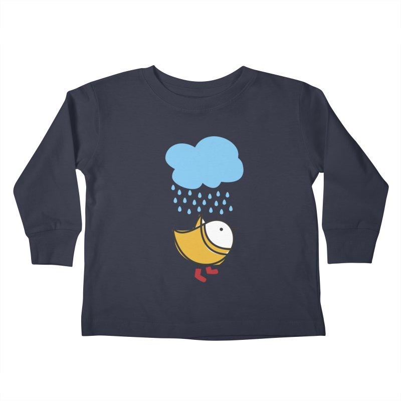 It's raining! Kids Toddler Longsleeve T-Shirt by ElenaLosada Artist Shop