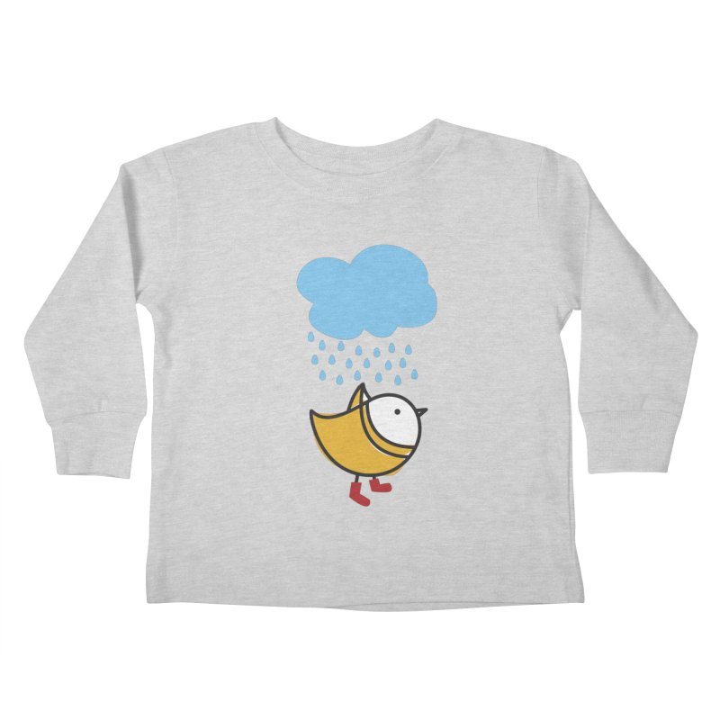 It's raining! Kids Toddler Longsleeve T-Shirt by elenalosadaShop's Artist Shop
