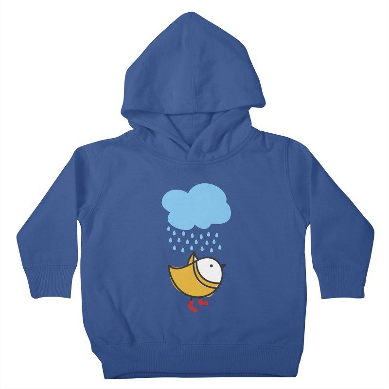 It's raining! Kids Toddler Pullover Hoody by ElenaLosada Artist Shop