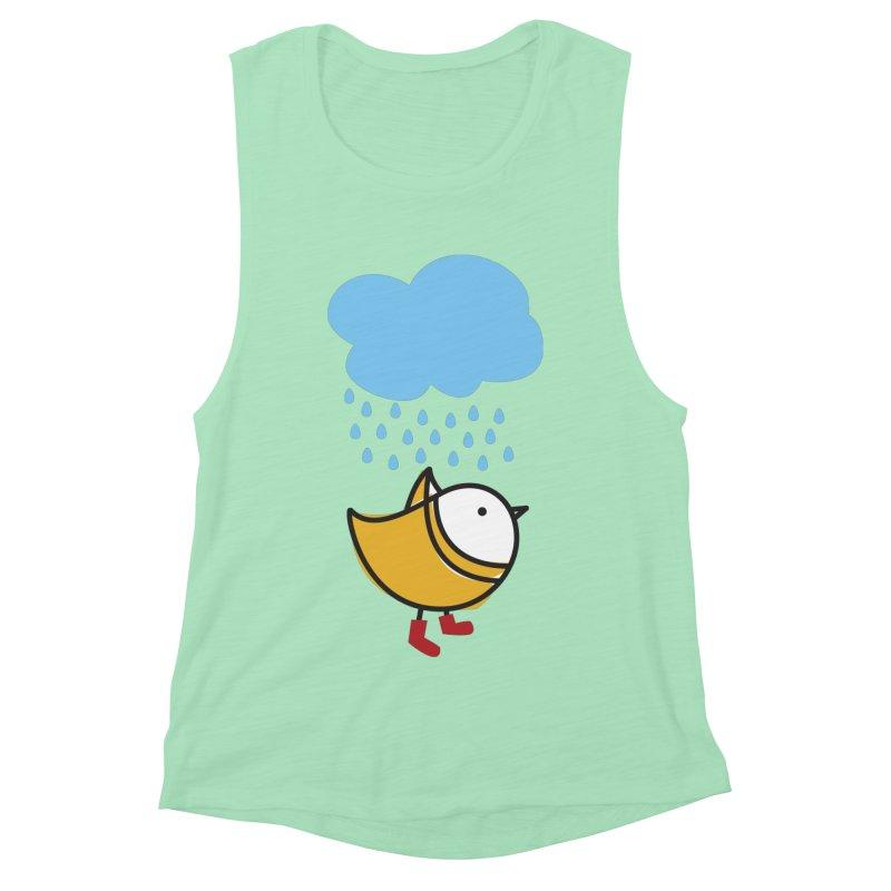 It's raining! Women's Muscle Tank by ElenaLosada Artist Shop