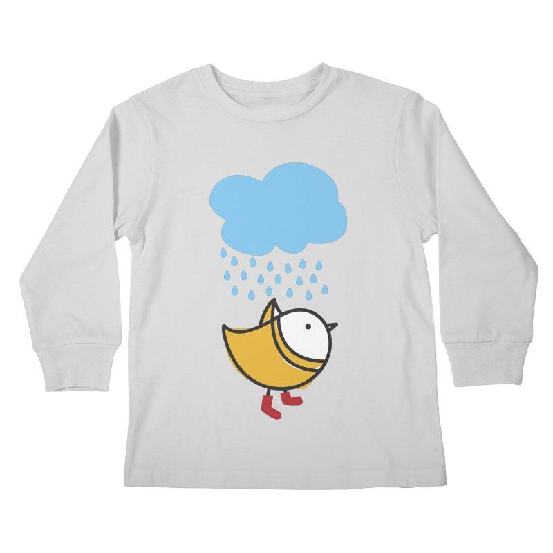 It's raining! Kids Longsleeve T-Shirt by ElenaLosada Artist Shop