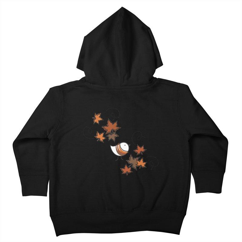 Autumn's bird Kids Toddler Zip-Up Hoody by ElenaLosada Artist Shop