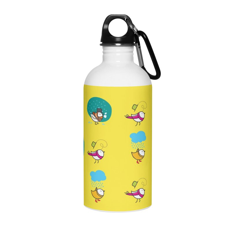 Birds Accessories Water Bottle by ElenaLosada Artist Shop