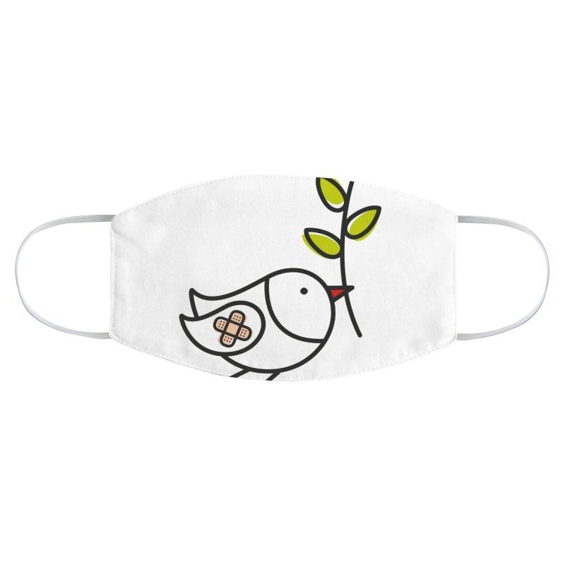 Peace Accessories Face Mask by ElenaLosada Artist Shop