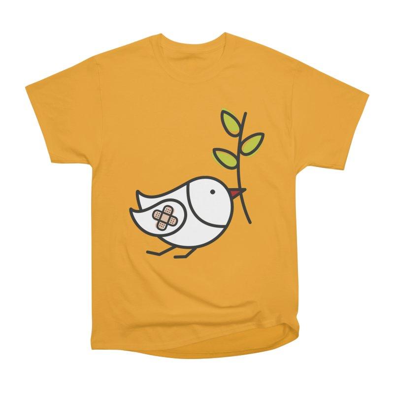 Peace Men's Heavyweight T-Shirt by ElenaLosada Artist Shop