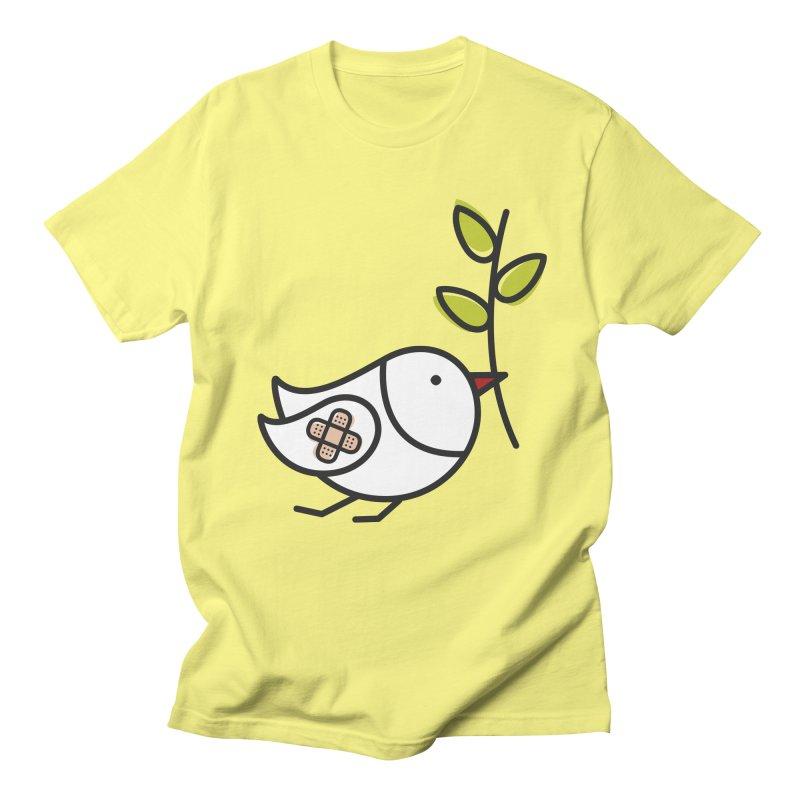 Peace Men's T-Shirt by ElenaLosada Artist Shop